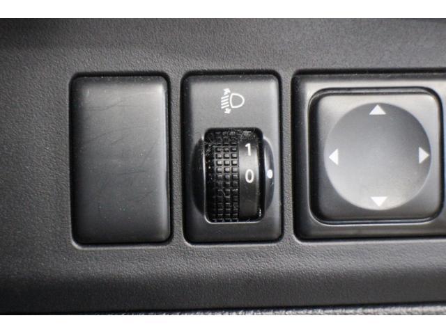 ヘッドライトの角度調節!ライトレベライザー!