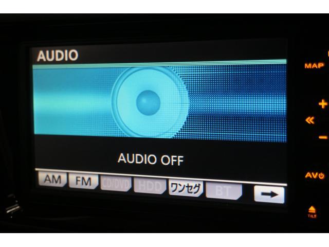 CD/DVD/MSV/AUX/フルセグTV機能付き純正HDDナビ