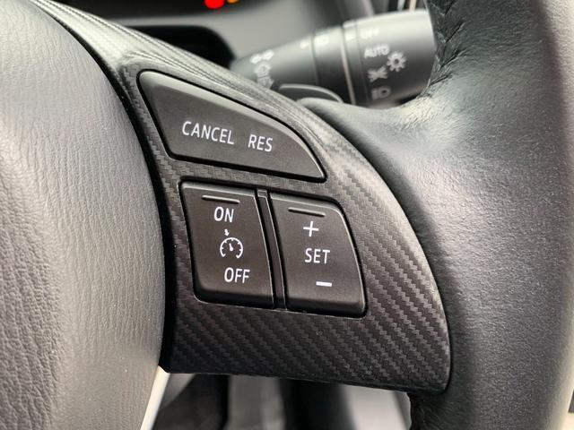 アクセルを踏まなくても設定速度を守って走行するクルーズコントロールを搭載