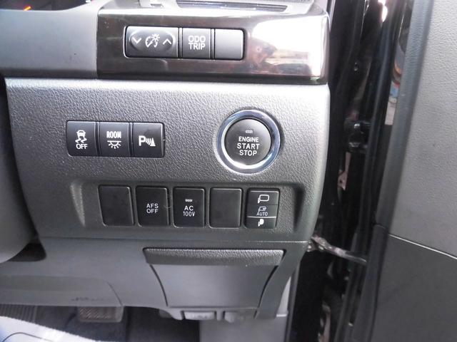 3.5ZプラチナセレクションIIタイプゴルドII スマートキー プッシュスタート フルエアロ 社外アルミ 両側パワースライドドア ナビ TV DVD Bluetooth 3列シート パワーリアゲート(8枚目)