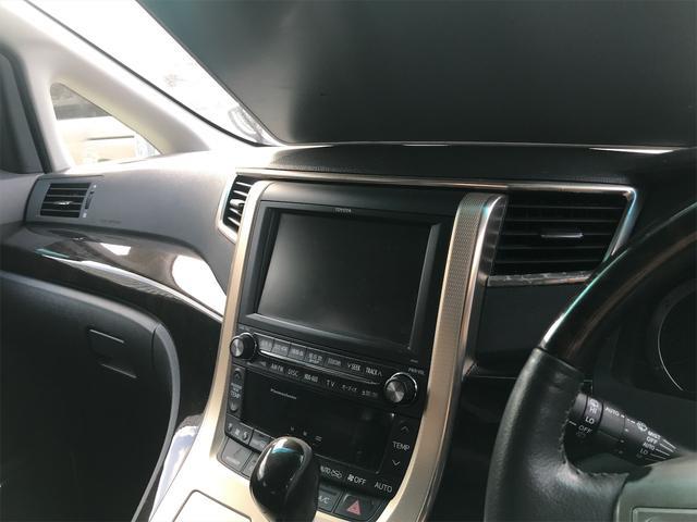 3.5ZプラチナセレクションIIタイプゴルドII スマートキー プッシュスタート フルエアロ 社外アルミ 両側パワースライドドア ナビ TV DVD Bluetooth 3列シート パワーリアゲート(43枚目)