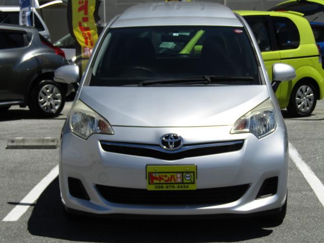 「トヨタ」「ラクティス」「ミニバン・ワンボックス」「沖縄県」の中古車3