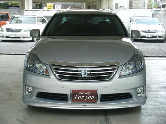 「トヨタ」「クラウンハイブリッド」「セダン」「沖縄県」の中古車2