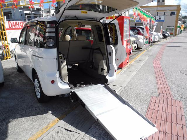 トヨタ シエンタ X改 車いす移動車 スローパー