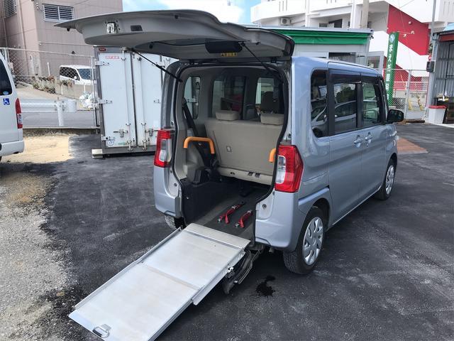 福祉車両 後部スローパー 車椅子1基載 キーレス CD ベンチシート ナビ 両側スライドドア(37枚目)