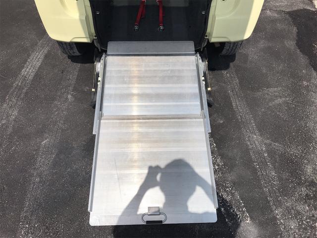 福祉車両 後部スローパー 車椅子1基載 キーレス CD ベンチシート アイドリングストップ 両側スライドドア(4枚目)