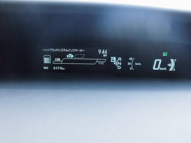 エコドライブモニター付きスピードメーター、レンタカー使用中の為走行距離伸びます!