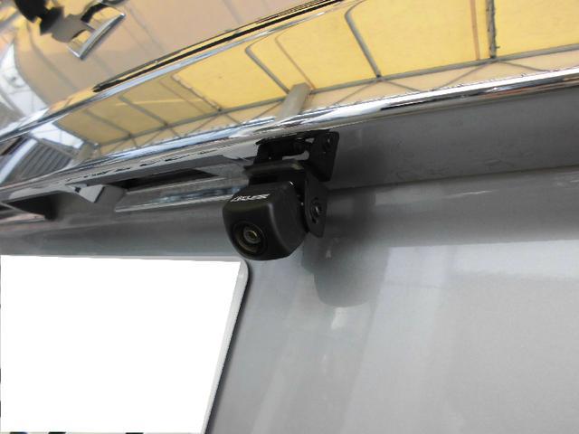 バックカメラはナビ純正のECLPSE用を採用