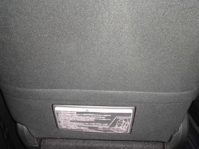 助手席シート裏側にはシートバックポケット