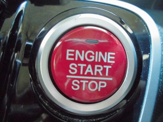 プッシュエンジンスタート/ストップスイッチはワンプッシュでエンジンを始動・停止が可能
