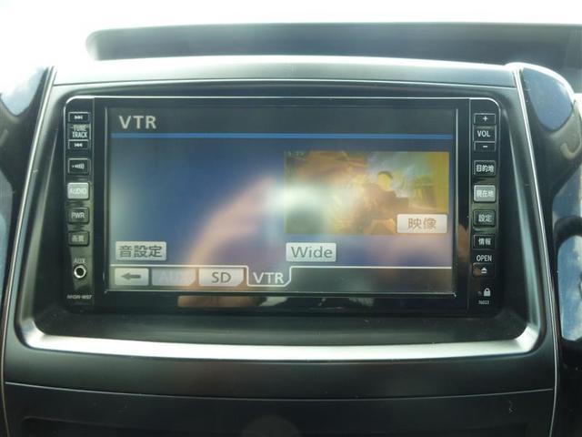 S HDDナビ DVD再生 バックカメラ ETC 両側電動スライド HIDヘッドライト 乗車定員8人 3列シート 記録簿(6枚目)