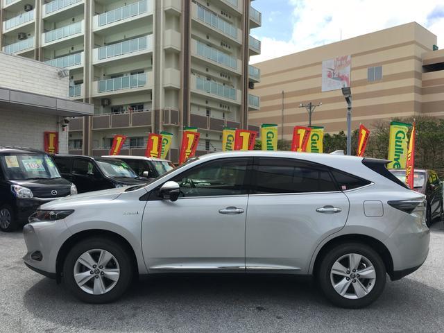 「トヨタ」「ハリアーハイブリッド」「SUV・クロカン」「沖縄県」の中古車4