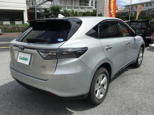 「トヨタ」「ハリアーハイブリッド」「SUV・クロカン」「沖縄県」の中古車7