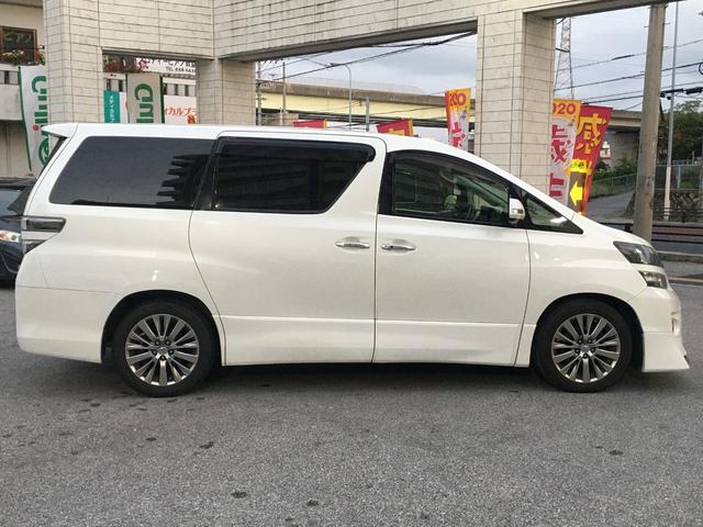 「トヨタ」「ヴェルファイア」「ミニバン・ワンボックス」「沖縄県」の中古車8