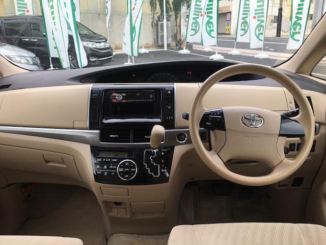 トヨタ エスティマ X スマートキー 片側電動ドア 社外CDオーディオ