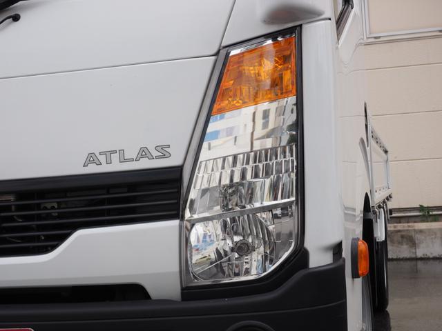 日産 アトラストラック スーパーロー 買取1オーナー 1.5t積 ETC 錆止め付き