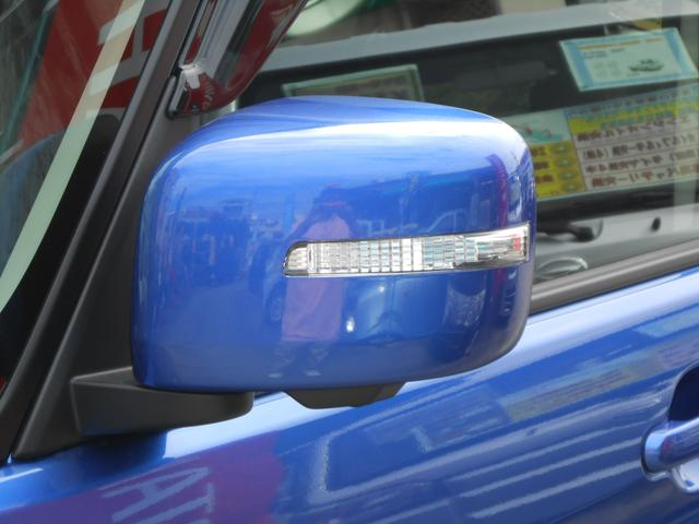 電動格納ウィンカーミラー「狭い駐車場も安心」