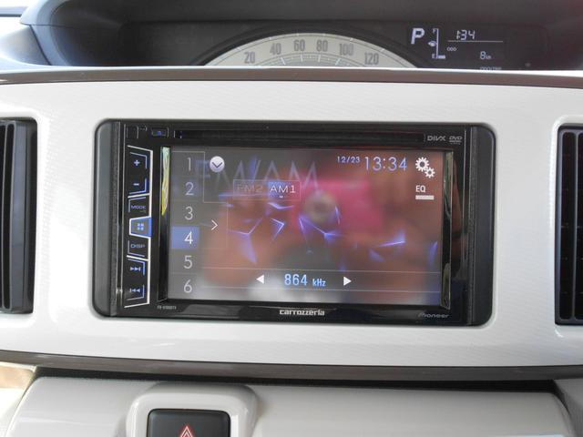 オプション装備:ワンセグTV/CD/DVD/USB