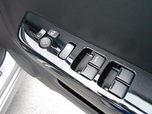 電動格納ミラー&パワーウィンドースイッチ「当たり前の装備が嬉しい」