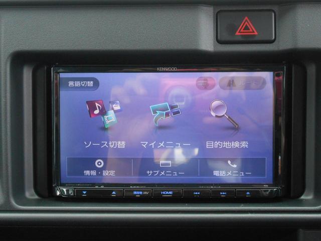 オーディオ:オプション装備「フルセグTV/ナビ/DVD/CD/USB/BT付で室内快適」