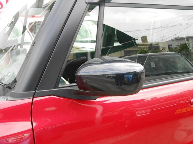 電動格納式リモコンドアミラー「狭い場所での駐車もドアミラーを格納出来るので安心」