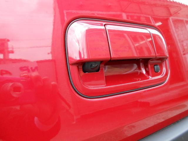 バックカメラ:オプション装備「バックでの駐車が苦手な方に強い味方」