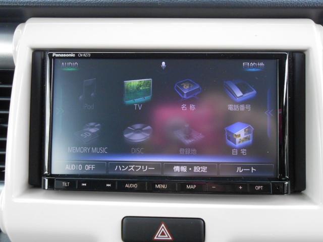 オーディオ:オプション装備「フルセグTV/ナビ/DVD/CD走行中も楽しめて快適ドライブへ出かけよう」