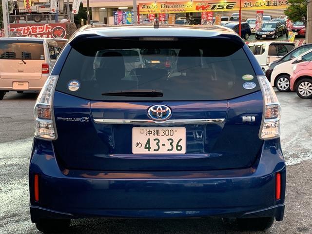 「トヨタ」「プリウスα」「ミニバン・ワンボックス」「沖縄県」の中古車6