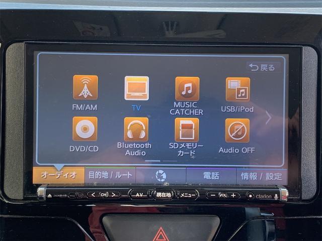カスタムRS SAII ターボ 衝突軽減システム 社外ナビ フルセグTV DVD再生 Buluetooth 両側パワースライド LEDヘッドライト フォグライト 純正15インチアルミ エンジンプッシュスタート ETC(11枚目)