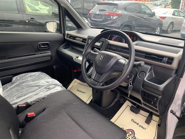 ハイブリッドFX ワンオーナー 社外CDデッキ シートヒーター オートライト オートエアコン キーレスエントリー アイドリングストップ サイドバイザー セキュリティアラーム ETC(10枚目)