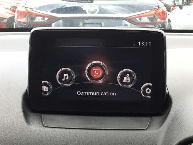 操作性と視認性に高い評価を得ている7インチWVGAセンターディスプレイ&コマンダーコントロールを採用しています。