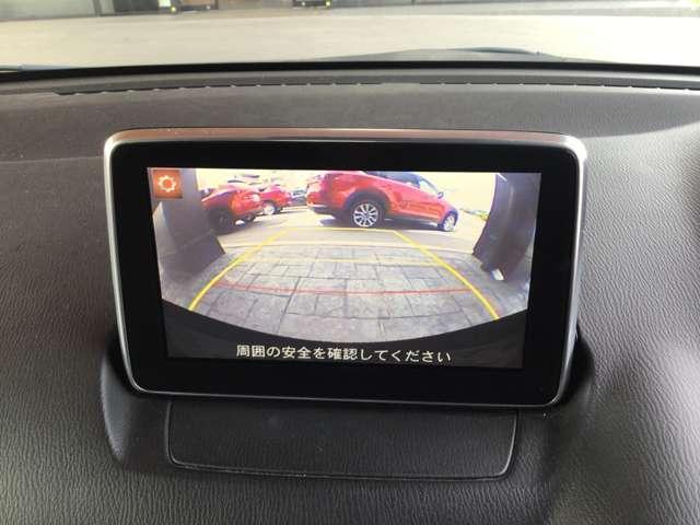 バックモニターも装備!これで駐車時も安心です。