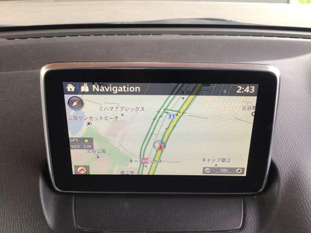 オプション設定のナビゲーション用SDカードが装備されています!