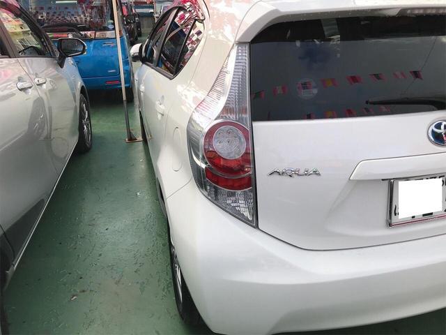 「トヨタ」「アクア」「コンパクトカー」「沖縄県」の中古車10