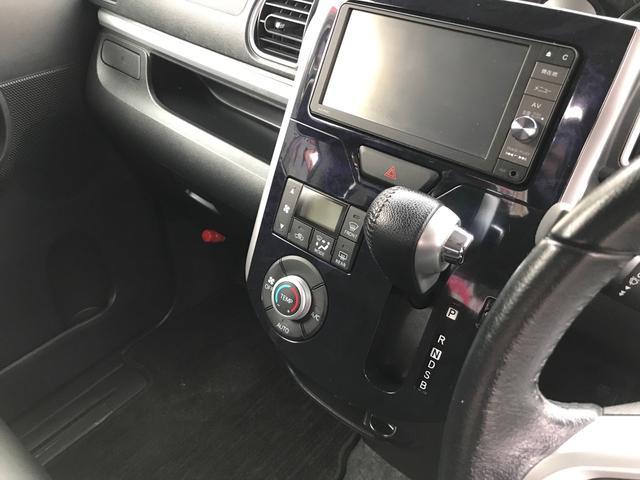 カスタムRS トップエディションSAII スマートキー プッシュスタート 両側パワースライドドア アイドリングストップ 衝突軽減システム 横滑り防止 純正ナビ TV ハーフレザーシート(24枚目)