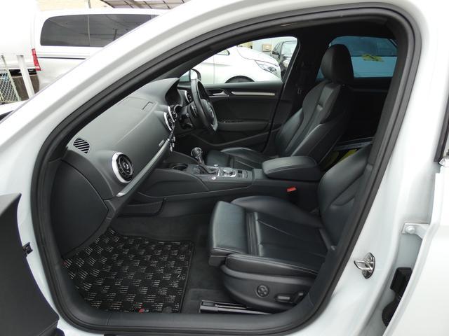 S3専用エクステリア 専用18インチアルミホイール ブラックレザースポーツシート パワーシート シートヒーター