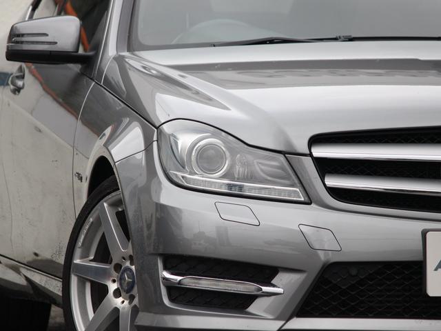 AMGスポーツパッケージエクステリアを身に纏いより一層際立たせた専門店ならではの1台!! 綺麗なパラジウムシルバー!!