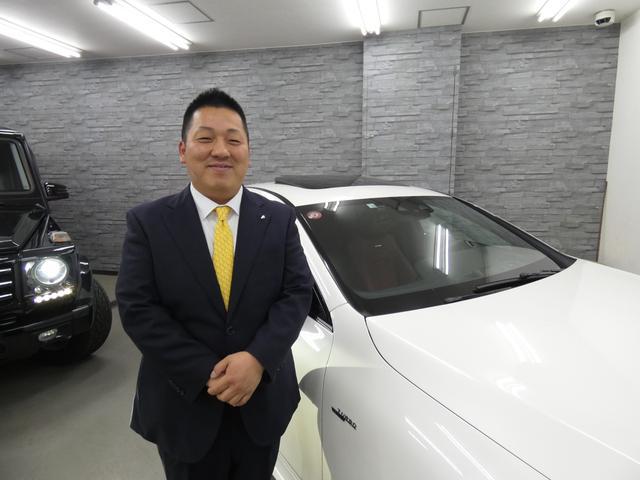 皆様こんにちわ!セールスアドバイザーの我如古と申します。輸入車の魅力を伝え、良かったと思える最良の1台をご案内させて頂けたらと日々思って努めております。皆様とお会いできる日を楽しみにしております!