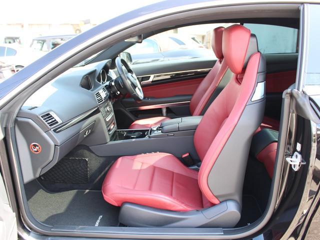 E250クーペ 後期最終型 AMGスポーツPKG レーダーセーフティーPKG パノラマSR 赤レザー LEDライト HDD地デジ360カメラ パークトロニック 18AW キーレスゴー 正規ディーラー車本土仕入(17枚目)
