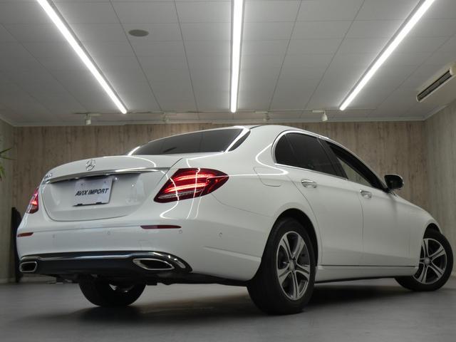 ご覧頂き誠に有り難う御座います E200AVG・レザーPKG入庫です!!綺麗なポーラーホワイト!!