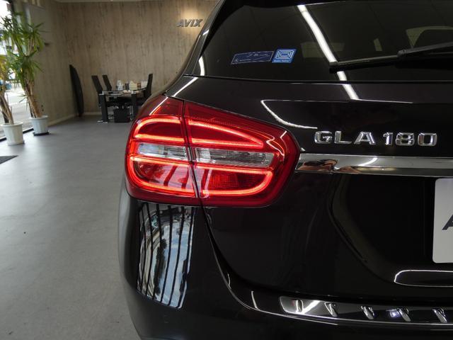 GLA180 レーダーセーフティーPKG バリューPKG 黒ハーフレザー 純正HDDナビ地デジBカメ オートテールゲート キセノンHL 18AW PTS 禁煙車(58枚目)