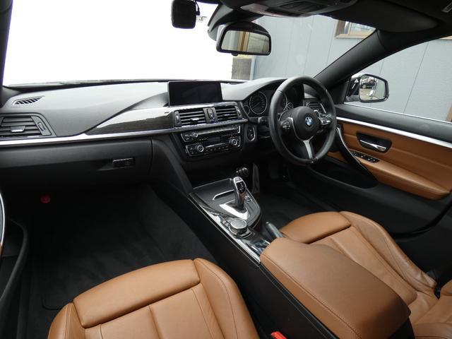 420iグランクーペ イン スタイル ブラウン革 ACC HUD LEDライト 安全支援装置 純正HDDナビBカメラ 19AW オートトランク 禁煙車 限定車 スタートストップ 電子制御8速AT(8枚目)