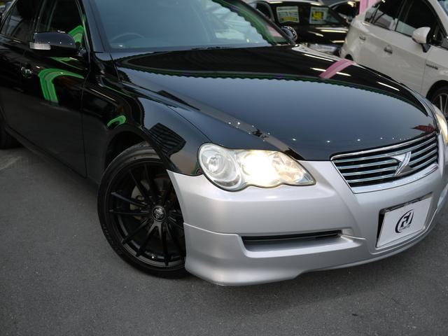 トヨタ マークX 250G Sパッケージ 黒革シート 地デジTV スマートキー