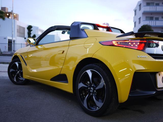 ★S660はオープン時にも高い車両剛性があり快適な走りも体感できます!