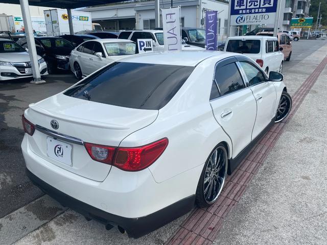 250G リラックスセレクション・ブラックリミテッド GTウイング 車高調 社外マフラー 20インチAW シートカバー ナビ TV HIDヘッド(12枚目)