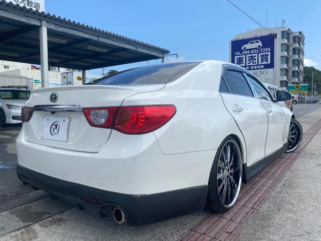 250G リラックスセレクション・ブラックリミテッド GTウイング 車高調 社外マフラー 20インチAW シートカバー ナビ TV HIDヘッド(13枚目)