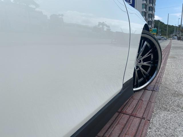 250G リラックスセレクション・ブラックリミテッド GTウイング 車高調 社外マフラー 20インチAW シートカバー ナビ TV HIDヘッド(15枚目)