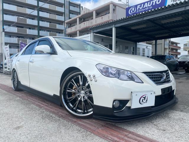 250G リラックスセレクション・ブラックリミテッド GTウイング 車高調 社外マフラー 20インチAW シートカバー ナビ TV HIDヘッド(18枚目)