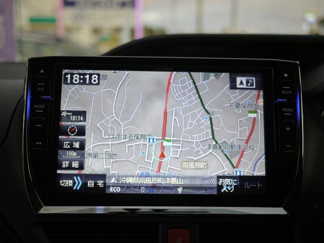 ハイブリッドX 10インチナビ 社外18AW 後席フリップダウンモニター LEDヘッドライト(37枚目)