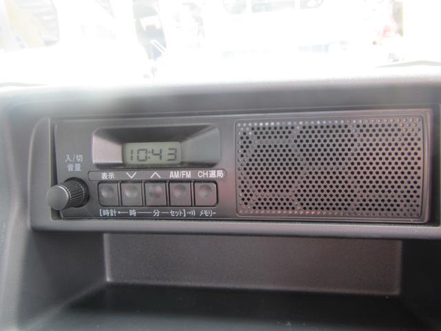 オーディオパネルの画像になります。オーディオついていない車両の画像もありますが、見積り書にはオーディオ(CD、ラジオ等が聞けるもの)を含んでいます。ナビは別料金となります。